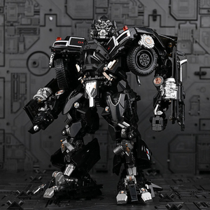 Image 3 - TransformationสีดำMamba BMB LS 09 LS09อาวุธIronhide KO Action Figureโลหะผสมโลหะภาพยนตร์Action Figureรูปของเล่น