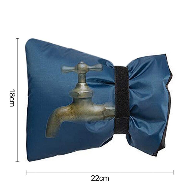 2 шт многоразовые крышки для смесителя для зимы водонепроницаемые носки для смесителя защита от замерзания открытый сад холодная погода Чехлы для смесителя