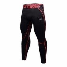 Мужские плотно облегающие леггинсы для бега, спортивные мужские штаны для фитнеса, быстросохнущие брюки, тренировочные колготки для тренировок