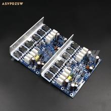 2 قناة L25 المتكاملة مكبر كهربائي مجلس النهائي KTB817 KTD1047 2SA1186 2SC2837 250W + 250W 8ohm