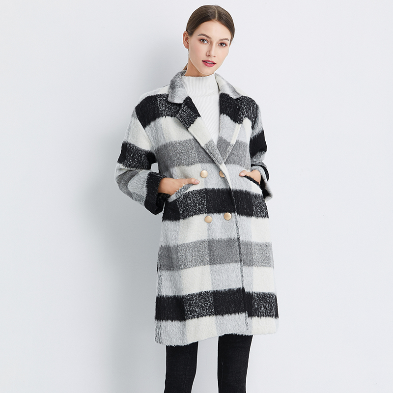 Autumn and winter-coat-women's