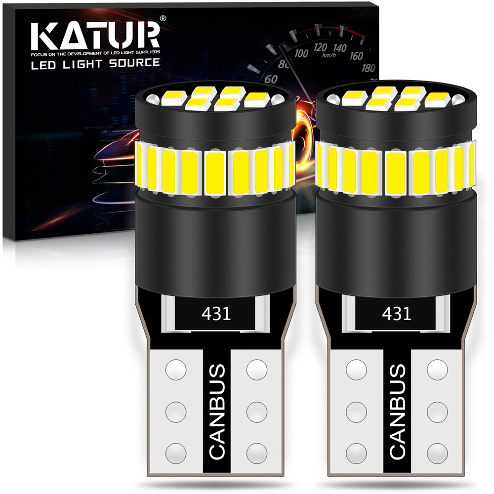 2x <font><b>Canbus</b></font> <font><b>T10</b></font> 168 Clearance Parking Lights Lamps W5W <font><b>LED</b></font> Bulb Lamp For Volkswagen <font><b>VW</b></font> Polo Passat b5 b6 CC Golf 4 5 6 7 Jetta image
