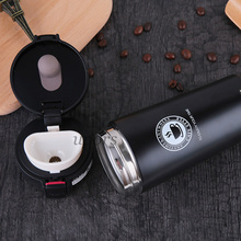Hot Fashion 380ml Stainless Steel Coffee Mugs Insulated Water Bottle Tumbler Thermos Cup Vacuum Flask Premium Travel Mug