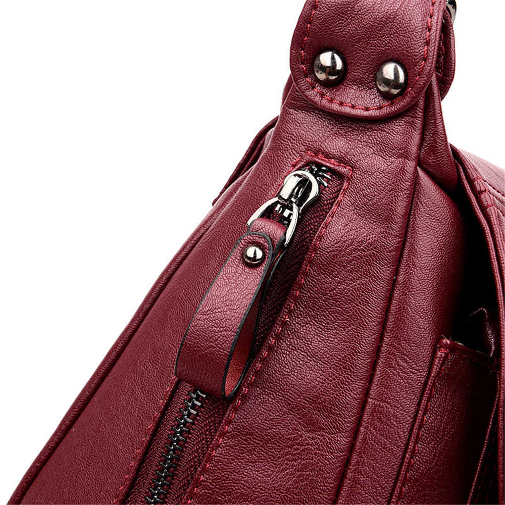 Wanita Messenger Tas Selempang untuk Wanita PU Tas Kulit Tas Tangan Wanita Merek Terkenal Wanita Shoulder Bag Bolsa Feminina Sac