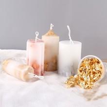 0,5 г свеча Золотая фольга INS Горячее предложение для свечей Силиконовая Форма Мыло для ароматерапии прессформа для украшения свечей