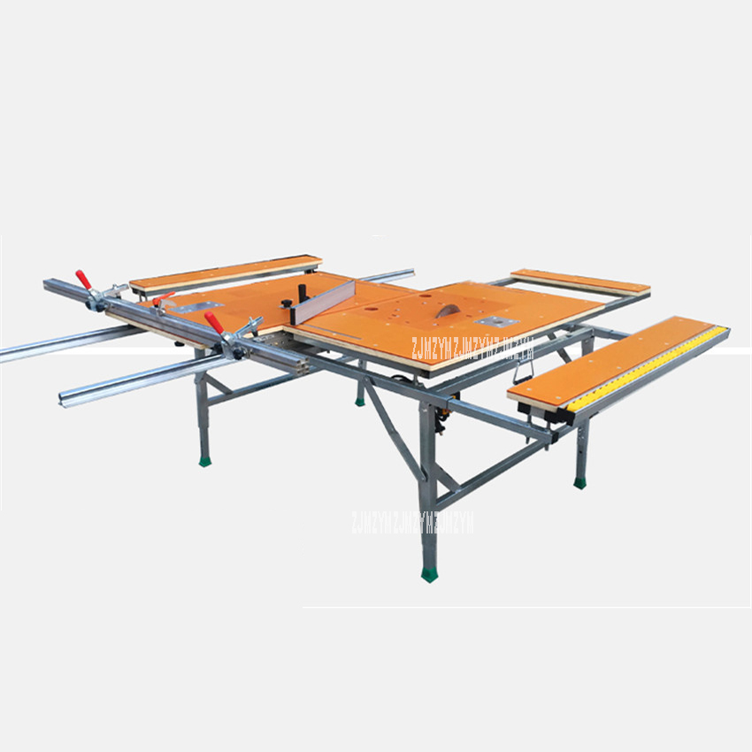 Woodworking Bench Saw Multifunction Track Electric Table Slide Saw Sawing Machine Galvanized Steel Pipe Insulated Bakelite Plate