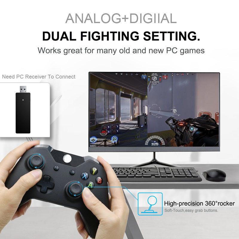 lowest price 2 4 G Controller Gamepad Android Wireless Joystick Joypad with OTG Converter For PS3 Smart Phone For Tablet PC Smart TV Box
