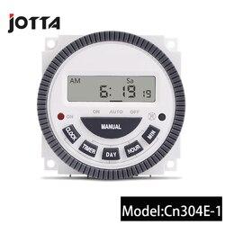 24 Horas 7 Dias TM619 Digital Programável Interruptor Do Temporizador 220 V 16A 4Pin Bateria Interna Portão Automático Temporizador