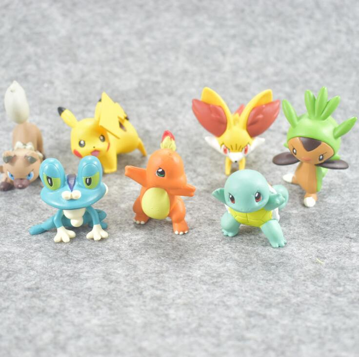 Pokeball Figure Charizard Meowth Anime Action Figure Toys Collection Dolls