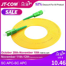 SC/APC Fibra Ottica Patch Cord Cavo SM SC SC 2.0 millimetri 3.0 millimetri cavo di Singola Modalità Simplex Fibra Ottica optica FTTH 9/125um PVC
