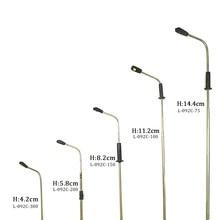 Lámpara Led en miniatura de 3V, luces de tubo de acero para arquitectura, calle, jardín, tren, paisaje de diseño
