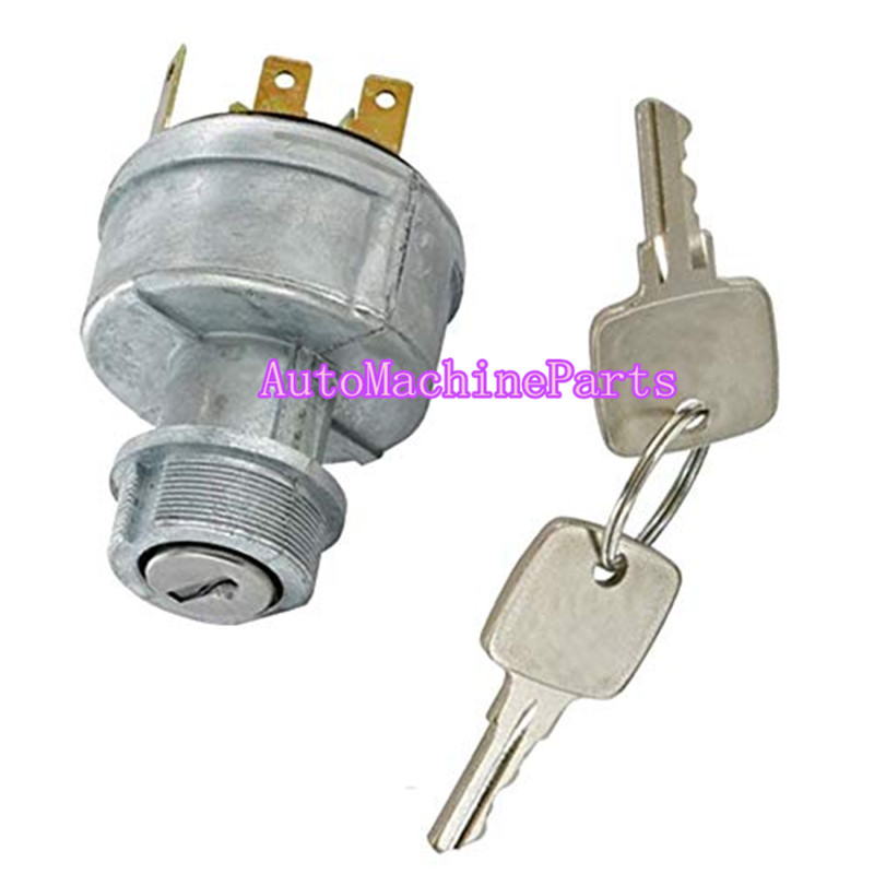 Mover Parts Ignition Switch with Keys AR58126 for John Deere 322 330 332 F912 F915 F932 F935 655 755 855 955 4030 4230 4430 4630 4040 4240 4440 4640 4840 4050 4250 4450 4650 4850