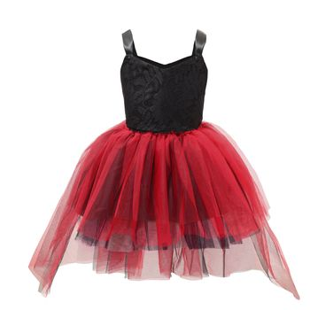 2020 Baby Girls Dress Wedding Flower-girl Princess Dress Children Ballet Dress For Girls Party Dress Spring Summer Tulle Clothes