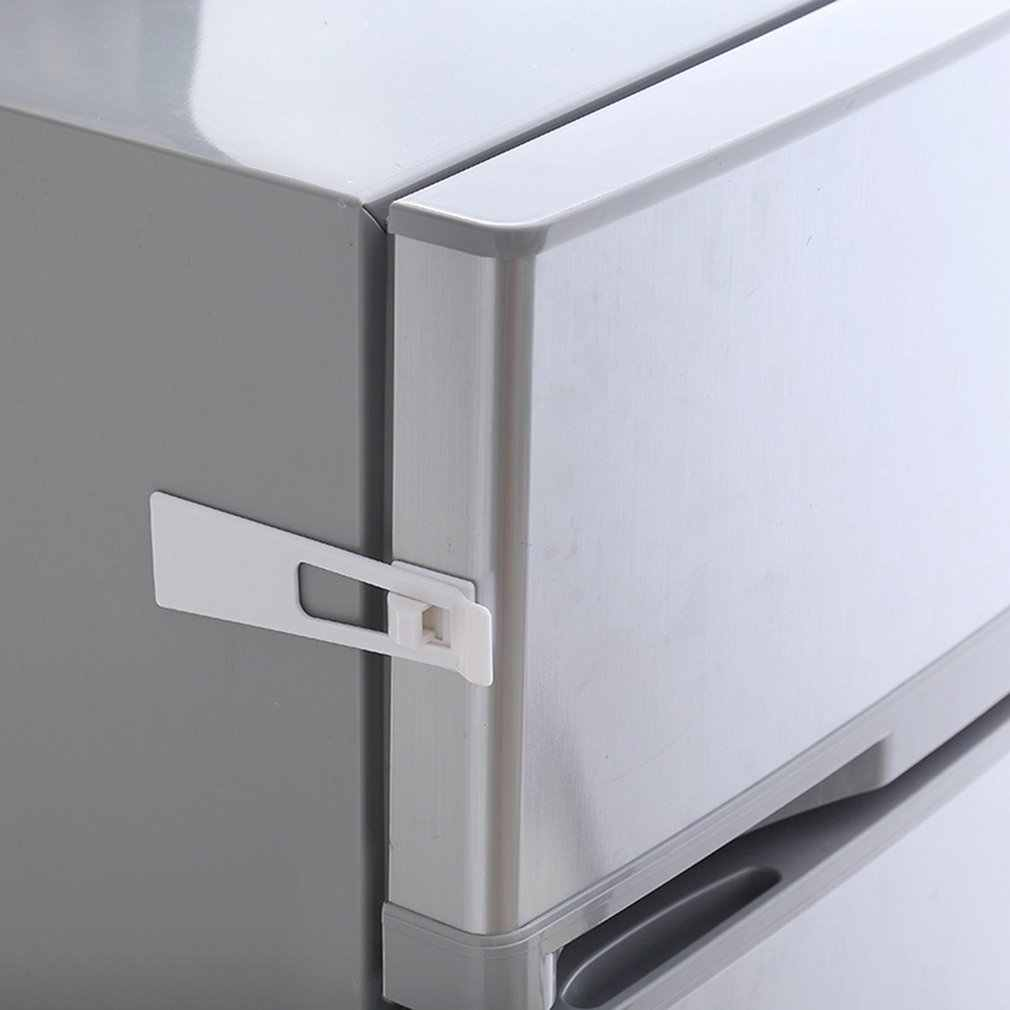 Baby Child Safety Protect Locks Fridge Guard Cupboard Refrigerator Door Drawer Home Indoor Safety Latch Easy to Install