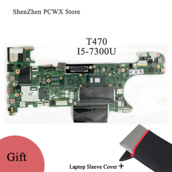 for Lenovo thinkpad T470 i5-7300U CT470  Motherboard with CPU and RAM FRU:00HX648 PN:45112801032 Computer Complete Test