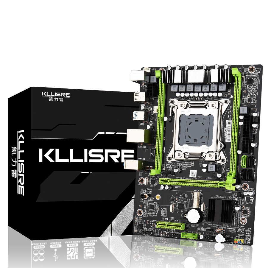 Kllisre X79 M3 материнская плата LGA2011 ATX USB3.0 SATA3 PCI-E NVME M.2 SSD поддержка памяти REG ECC и процессор Xeon E5