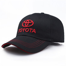 Wholesale car logo hat cotton high-grade fabric racing cap for toyota motorcycle
