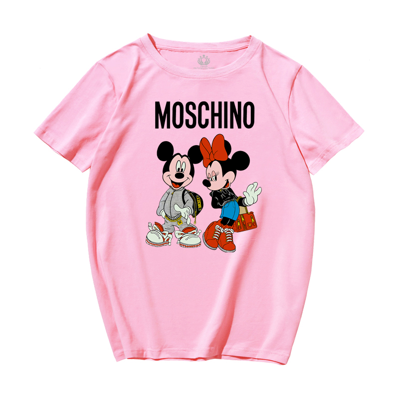 New Cartoon Mickey Mouse Women T shirt Loose Korean Version of Women Shirts Minnie Mouse Kawaii Womens Clothing Korean Clothes|T-Shirts| - AliExpress