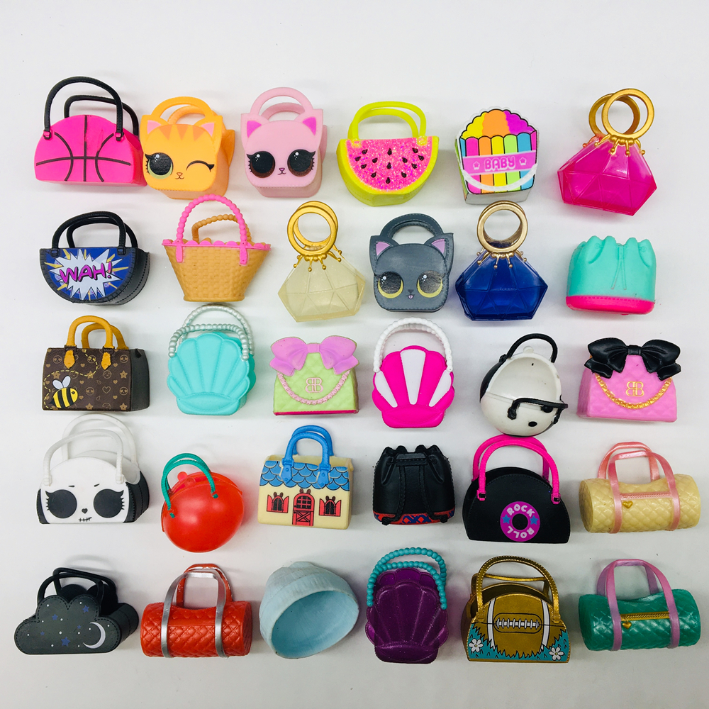 Cute Real LOL Doll Original Bag Hat Accessorries Lol Accessories On Sale Original Mini LOL Dolls Collection Drop Shipping