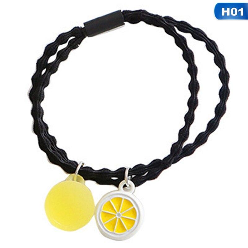 Купить маленькая свежая желейная цветная фруктовая веревка для волос