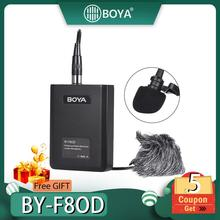 BOYA BY-F8OD XLR Lavalier Instrument Microphone for Vocal Acoustic Guitar Application Theater Music Stage Film Performance Mic