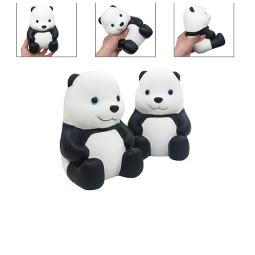 Stress Relief Toys Kawaii Squeeze Toys Squishy Jumbo Cute Panda Cream Scented Squeezable Slow Rising Kids Toys DoW806