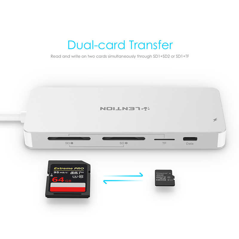 Thunderbolt 3 Dock Usb Type C Naar Hdmi Hub Adapter Voor Macbook Samsung Dex Galaxy S10/S9 USB-C Converter sd/Tf Card Readers