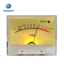цена на 1pcs PEAK Lamp TN-65F High-precision VU Meter Table Head op amp DB Power Amplifier Mixer level lamp peak Sound Pressure Meter