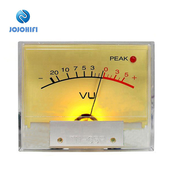 1pcs PEAK Lamp TN-65F High-precision VU Meter Table Head op amp DB Power Amplifier Mixer level lamp peak Sound Pressure Meter muses01 dip8 1pcs lot audio j fet input fever dual op amp high fidelity sound quality