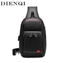 DIENQI 2020 New Multifunction Crossbody Bag for Men Anti-the