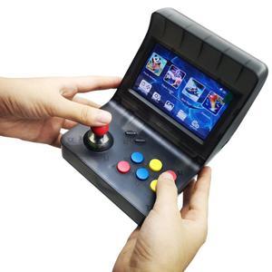 Image 5 - הכי חדש נייד רטרו מיני כף יד קונסולת משחקי 4.3 אינץ 64bit 3000 וידאו משחקים קלאסי משפחת משחק קונסולת מתנת רטרו ארקייד