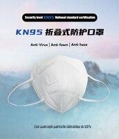 10 pcs KN95 FFP2 mask respirator mascarillas Dustproof Anti fog And Breathable Face Masks 95% Filtration N95 Masks Features as Masks     -