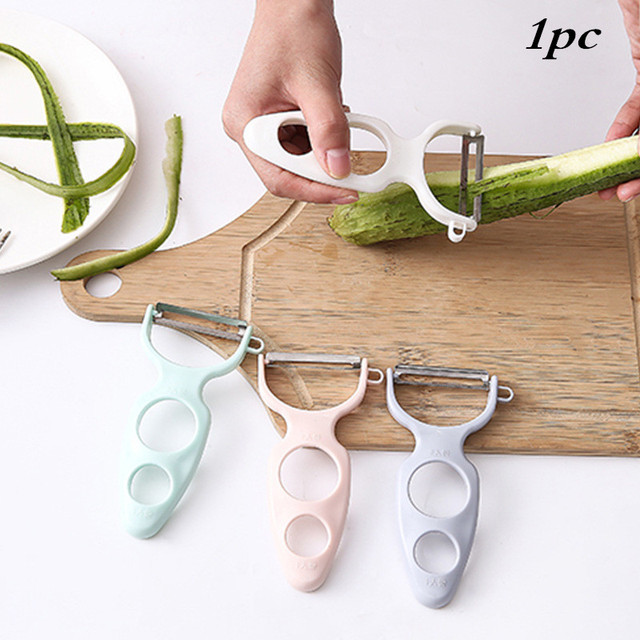Cooking Tools Wide Mouth Peeler Vegetables Fruit Stainless Steel Knife Cabbage Graters Salad Potato Slicer Kitchen Accessories 5