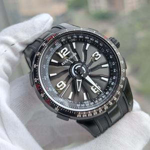 Image 2 - Reef Tiger/RT relojes deportivos automáticos para hombre, reloj militar de acero negro, luminoso, resistente al agua, marca de lujo, RGA3059, 2020