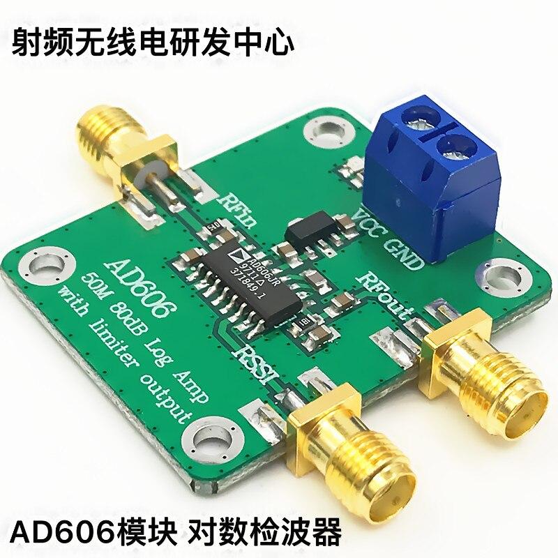 AD606 Module Logarithmic Detector 80dB Demodulation Logarithmic Amplifier