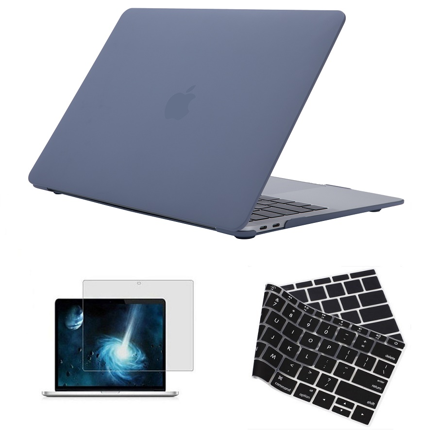 Rubberized Plastic Hard Shell Case Cover For Apple MacBook 13 Air Retina <font><b>Display</b></font> Model A1932 / 13 15 Touch Bar A2159 A1989 <font><b>A1990</b></font> image