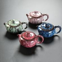 China Tea set tea pot Ceramic Kettle change kiln pot for tea teteras de te Decanter for water tea kettle home creative pot 200ml
