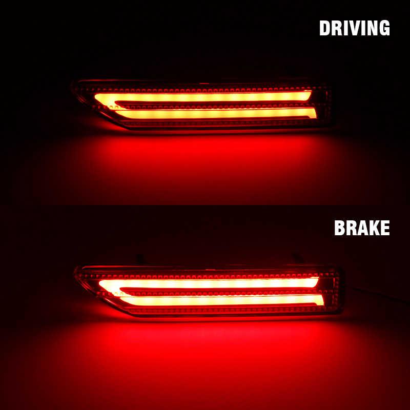 2 Stuks Voor Honda Crv C-RV Brv City 2007 2008 2009 Led Auto Achterbumper Reflector Remlicht Lamp Fog staart Stop Rijden Signaal