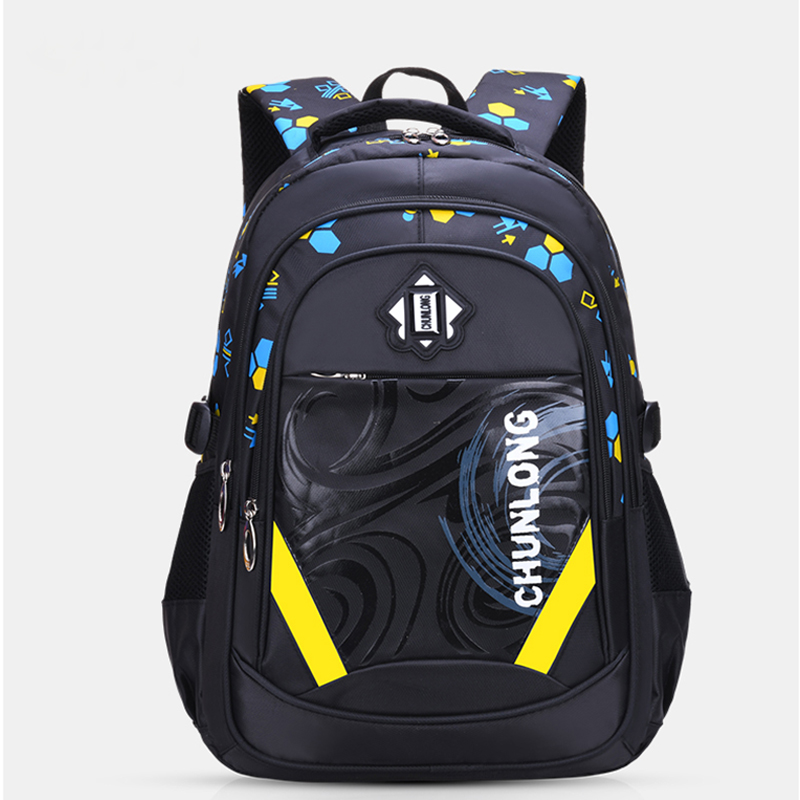 Kids School Bags For Boys Primary School Backpack Child Big Capacity Children SchoolBag Girls BookBag Waterproof 1-3-6 Grade New