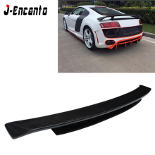 For Audi R8 GT style 2008-2014 Spoiler Carbon Fiber Material wings Rear spoiler