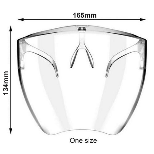 Anti-spray Mask Face Shield Glasses Swimming Goggles Safety Waterproof Protective Mask For Adults Outdoor travel