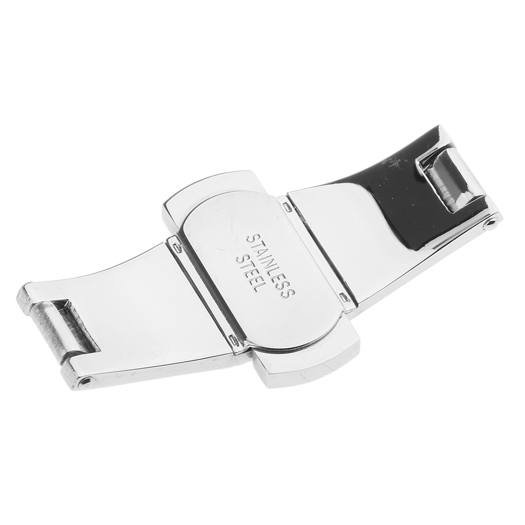 Watch Maker Butterfly Buckle Stainless Steel Clasp DIY Accessories 21 x 6 mm