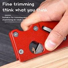 Carpenter-Tool Planer Trimming Woodworking Chamfer Gypsum-Board Edge Manual Bevel 45-Degree