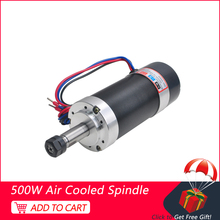 500W CNC Spindle Motor 12000 RPM DC Brushless Spindle ER11 Motor For Milling Machine Tools