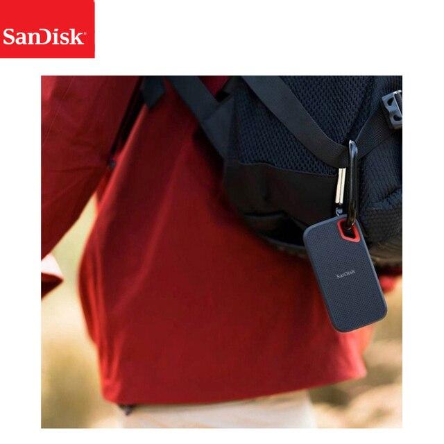 SanDisk Portable External SSD 2TB 1TB 500GB  550M External Hard Drive SSD USB 3.1 HD SSD Hard Drive Solid State Disk for Laptop 3