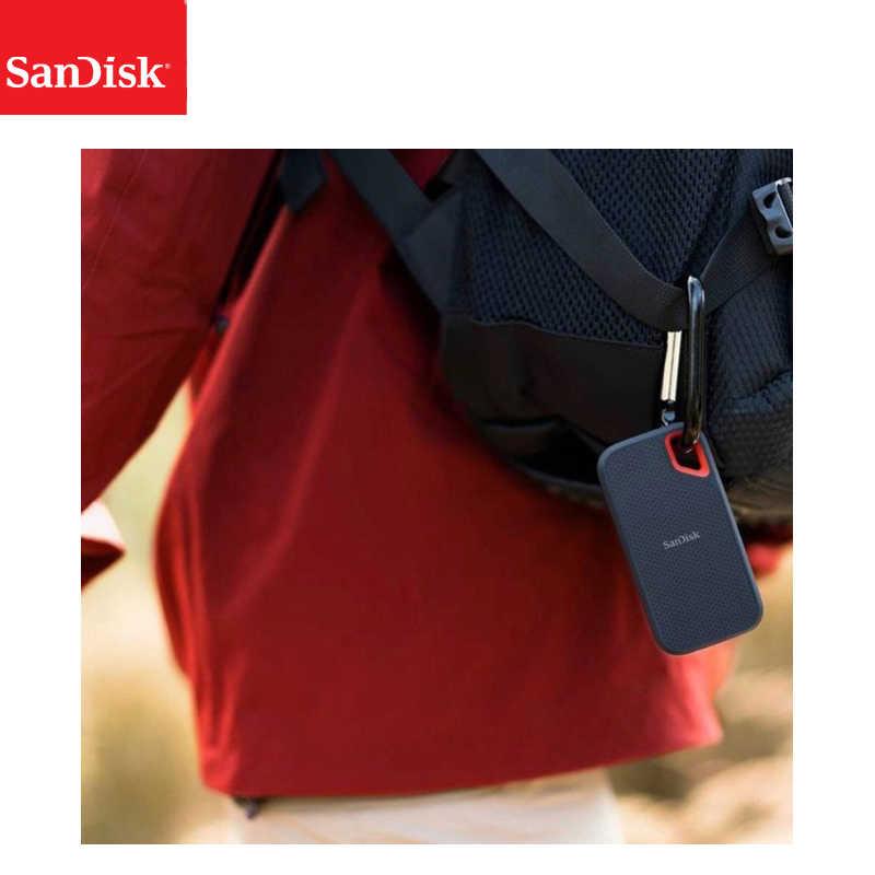 SanDisk Portable Eksternal SSD 2TB 1TB 500GB 550M Eksternal Hard Drive SSD USB 3.1 HD SSD hard Drive Solid State Disk untuk Laptop