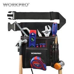 WORKPRO Heavy Duty Ferramenta Bolsa com Cinto Ajustável Cinto Eletricista maleta de Ferramentas Da Cintura Saco Multifuncional Ferramenta Bolsa