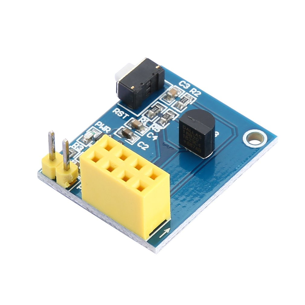 ESP8266 ESP-01 ESP-01S DS18B20 Temperature Humidity Sensor Module Wifi NodeMCU Smart Home IOT DIY Kit (without ESP Module)