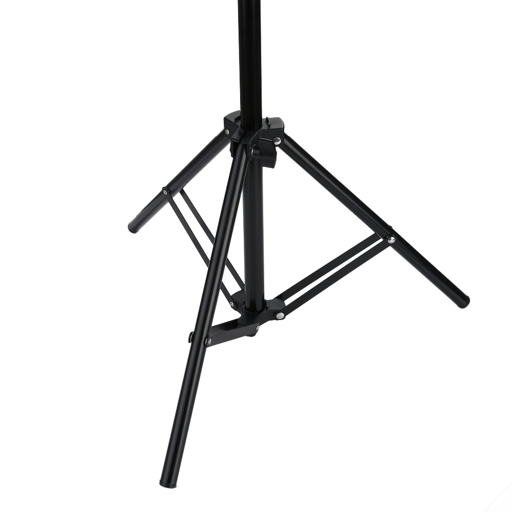 Hd58d2a02ae2f4db892248de0d59a175fR 110 160 200cm Photography Tripod Light Stands For Photo Studio Relfectors Softbox Lame Backgrounds Video Lighting Studio Kits