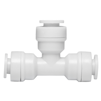 цена на 2pcs/lot Water Filter Parts 1/4x1/4x1/4 Tube 3-way Union Tee Quick Aquarium RO Water Filter Reverse Osmosis System Tube Pipe